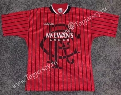 Retro Version 94-95 Rangers Away Red Thailand Soccer Jersey AAA-503