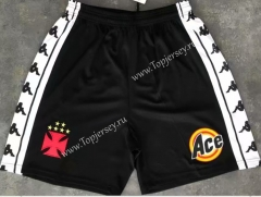 Retro Version 2000 CR Vasco da Gama Black Thailand Soccer Shorts-510