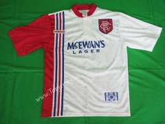 Retro Version 96-97 Rangers Away White Thailand Soccer Jersey AAA-503