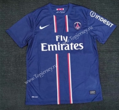 Retro Version 12-13 Paris SG Home Blue Thailand Soccer Jersey AAA-416