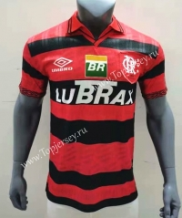 100th Anniversary Edition Flamengo Red and Black Thailand Soccer Jersey AAA-416