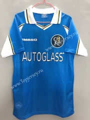 Retro Version 97-99 Chelsea Light Blue Thailand Soccer Jersey AAA-811