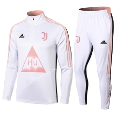 Joint Version 2020-2021 Juventus White Thailand Soccer Tracksuit-411