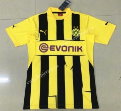 Retro Version 12-13 Borussia Dortmund Home Yellow Thailand Soccer Jersey AAA-HR