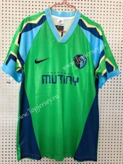 Retro Version 95-96 Tampa Bay Rowdies Green Thailand Soccer Jersey AAA-811