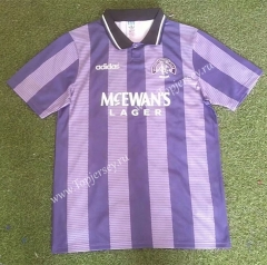 Retro Version 94-95 Rangers 2nd Away Purple Thailand Soccer Jersey AAA-503