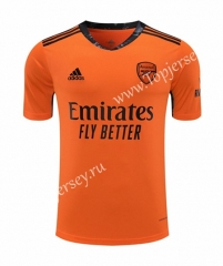 2020-2021 Arsenal Goalkeeper Orange Thailand Soccer Jersey-418