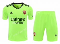 2020-2021 Arsenal Goalkeeper Fluorescent Green Thailand Soccer Uniform-418
