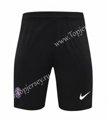2020-2021 Paris SG Goalkeeper Black Thailand Soccer Shorts-418