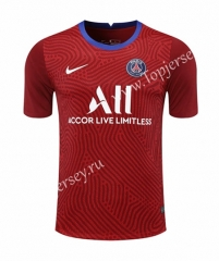 2020-2021 Paris SG Goalkeeper Red Thailand Soccer Jersey-418