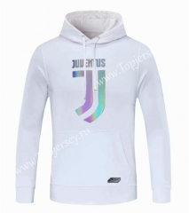 2020-2021 Juventus White Thailand Soccer Tracksuit Top With Hat-CS