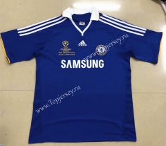 Retro Version 07-08 UEFA Champions League Version Chelsea Home Blue Thailand Soccer Jersey AAA-HR