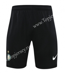 2020-2021 Inter Milan Goalkeeper Black LS Thailand Soccer Shorts-418