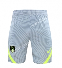 2020-2021 Atletico Madrid Light Gray Thailand Soccer Training Shorts -418