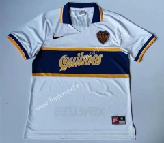 Retro Version 97 Boca Juniors Away White Thailand Soccer Jersey AAA-912