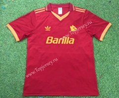 Retro Version 92-94 Roma Home Red Thailand Soccer Jersey AAA-503