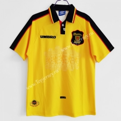 Retro Version 1996-1998 Scotland Away Yellow Thailand Soccer Jersey AAA-C1046