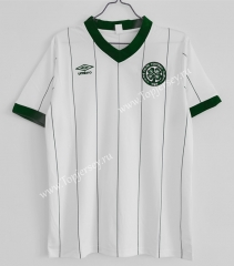 Retro Version 1984-1986 Celtic Away White Thailand Soccer Jersey AAA-C1046