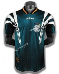 Retro Version 1996 Germany Away Green Thailand Soccer Jersey AAA-C1046