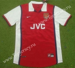 Retro Version 98-99 Arsenal Home Red Thailand Soccer Jersey AAA-503