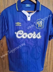 Retro Version 97 Chelsea Home Blue Thailand Soccer Jersey AAA-510