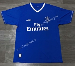 Retro Version 03-05 Chelsea Home Blue Thailand Soccer Jersey AAA-811