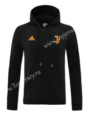 2020-2021 Juventus Black (Ribbon) Thailand Soccer Tracksuit Top With Hat-LH