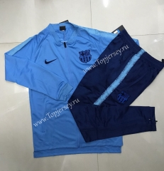2020-2021 Barcelona Light Blue Thailand Soccer Jacket Uniform -815