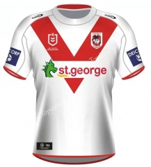 2021 Knight Home White Thailand Rugby Shirt