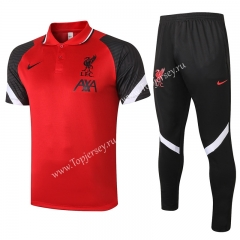 2020-2021 Liverpool Red Thailand Polo Uniform-815