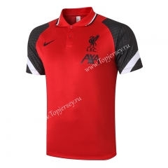 2020-2021 Liverpool Red Thailand Polo Jersey-815