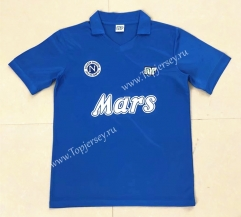 Retro Version 88-89 Napoli Home Blue Thailand Soccer Jersey AAA-HR