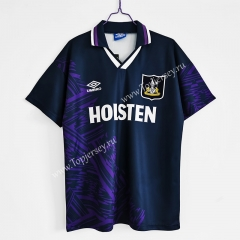 Retro Edition 1994-1995 Tottenham Hotspur Away Royal Blue Thailand Soccer Jersey AAA-C1046