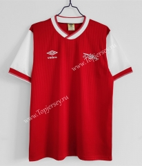 Retro Version 1983-1986 Arsenal Home Red Thailand Soccer Jersey AAA-C1046