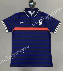 2020-2021 France Blue Thailand Polo Shirt-422