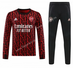 2020-2021 Arsenal Red Thailand Soccer Tracksuit-418