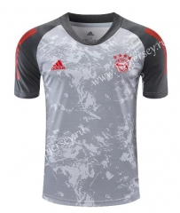 2020-2021 Bayern München Light Gray Thailand Training Soccer Jersey-418