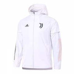 2020-2021 Juventus White Trench Coats With Hat-815