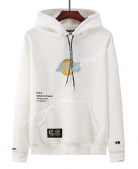 Joint Version Lakers White Tracksuit Top With Hat-LH