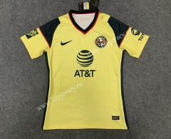 2021-2022 Club America Home Yellow Thailand Soccer Jersey AAA-TJ