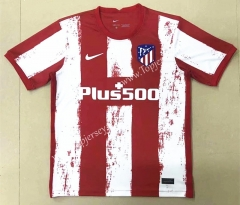 2021-2022 Atletico Madrid Home Red & White Thailand Soccer Jersey AAA-908