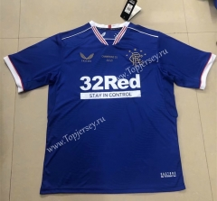 Champion Version Rangers Home Blue Thailand Soccer Jersey AAA-HR