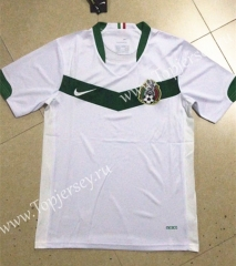 Retro Version 2006 Mexico Away White Thailand Soccer Jersey AAA-HR