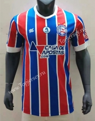 2021-2022 EC Bahia Away Red&Blue Thailand Soccer Jersey AAA-416