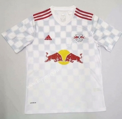 2021-2022 New York Red Bulls White Thailand Soccer Jersey AAA-422