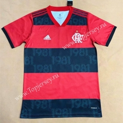 2021-2022 Flamengo Home Red and Black Thailand Soccer Jersey AAA-806