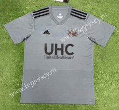 2021-2022 New England Revolution Light Gray Thailand Soccer Jersey