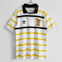 Retro Version 1988-1991 Scotland Away White Thailand Soccer Jersey AAA-C1046