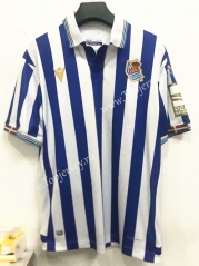 2021-2022 Real Sociedad Home Blue&White Thailand Soccer Jersey AAA-7T
