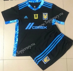 2021-2022 Tigres UANL Goalkeeper Black Soccer Uniform-AY